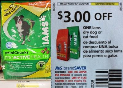 Free Iams Cat Food SmartSource Coupon